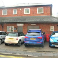 1400 SF ( 130 SM ) MODERN OFFICE WITH  GROUND FLOOR WORKSHOP AND FORECOURT