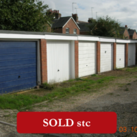 FOR SALE  FREEHOLD    SINGLE GARAGE IN A TERRACE OF GARAGES